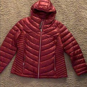 Red Calvin Klein Jacket/Coat